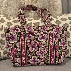 Flowered Vera Bradley bag
